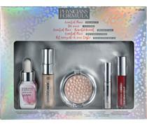 Make-up Lippen Geschenkset Oil-Free Serum 11 ml + Illuminating Primer 8;4 Mineral Glow Pearls Powder 4;9 g Velvet Liquid Lipstick 2;3 Killer Curves Mascara