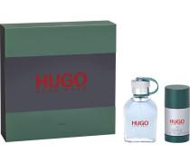 Hugo Hugo Man Geschenkset Eau de Toilette Spray 75 ml + Deodorant Stick 75 ml