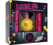 Bed Head Styling & Finish Shine On Set After Party 100 ml + Motor Mouth 240 ml + Headrush 200 ml