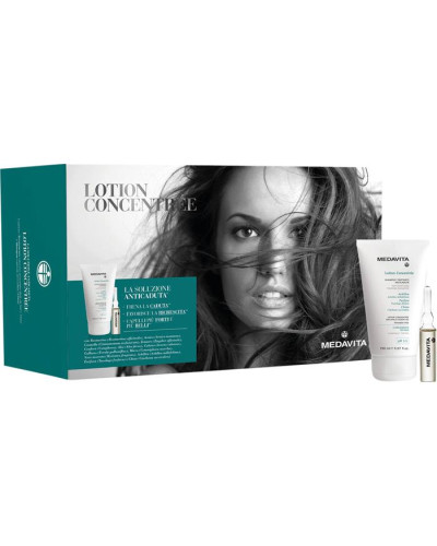 Haarpflege Lotion Concentrée Geschenkset Anti Hair Loss Treating Shampoo 150 ml + Anti Hair Loss Intensive Treatment 13 x 6 ml