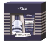 Herrendüfte Outstanding Men Geschenkset Eau de Toilette Spray 30 ml + Refreshing Shower & Shave Shampoo 75 ml