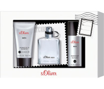 Herrendüfte Men Geschenkset Eau de Toilette Spray 30 ml + Deodorant Spray 50 ml + Shower Gel 75 ml