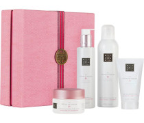 The Ritual Of Sakura Relaxing Ritual Giftset Zensational Foaming Shower Gel 200 ml + Caring Shower Oil 200 ml + Celebrate Each Day Body Scrub 125 g + Magic Touch Body Cream 70 ml