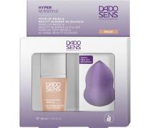 Make-Up Gesicht Geschenkset Hypersensitive Make-up Nr. 02K Almond 30 ml + Beauty Blender