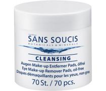 Pflege Reinigung Eye Make-up Remover Pads oil-free
