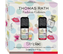 Make-up Striplac Thomas Rath Striplac Set Victoria's Brown 8 ml + Christie's Red 8 ml