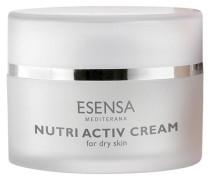 Optimal Defence & Nutri Essence - Trockene; empfindliche Haut Couperose Hydratisierende; aufbauende schützende Creme Active Cream