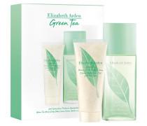 Green Tea Geschenkset Eau Parfumée Scent Spray 100 ml + Honey Drops Body Cream 100 ml