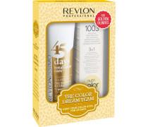 Haarpflege Revlonissimo 45 Days Revlonissimo Dream Team Set Golden Blondes 45 Days Shampoo (275ml) + Nutri Color Hellgold 1003 (100ml)