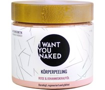 Peeling Rose & Johanniskraut-Öl Körperpeeling