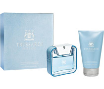 Herrendüfte Blue Land Geschenkset Eau de Toilette Spray 50 ml + Shampoo & Shower Gel 100 ml