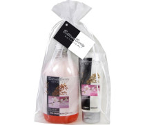 Pflege Botanical Geschenkset 2-Phasenbad Rice Milk & Cherry Blossom 500 ml + Handcreme Rice Milk & Cherry Blossom 100 ml
