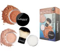 Make-up Sets Sunkissed & Defined Bronzing Kit Matte Mineral Bronzer 4 g + Mineral Bronzer 2 g + Setting Powder 4 g + Kabuki Brush