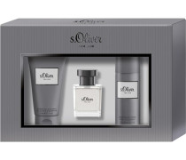 Herrendüfte For Him Geschenkset Eau de Toilette Spray 30 ml + Deodorant Spray 50 ml + Shower Gel & Shampoo 75 ml