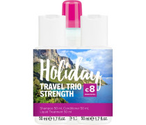Haarpflege Strength Holiday Travel Trio Daily Shampoo 50 ml + Daily Conditioner 50 ml + Super Strong Liquid Treatment 50 ml