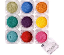 Make-up Augen 9 Stack Shimmer Powder Iris