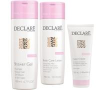 Pflege Body Care Body Care Set Körperpflege Milch 400 ml + Duschgel 400 ml + UV-Schutz Handcreme 100 ml