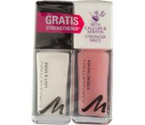Make-up Nägel Last & Shine Nail Polish + Gratis Strengthener Nr. 580 Turbo Tangerine 10 ml + Strengthener 10 ml