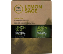 Haarpflege Tea Tree Lemon Sage Thickening Gift Set Lemon Sage Thickening Shampoo 300 ml + Lemon Sage Thickening Conditioner 300 ml