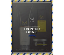 Haarpflege Mitch Dapper Gent Semi-Matt Grooming Kit Heavy Hitter Deep Cleansing Shampoo 250 ml + Clean Cut Styling Cream 85 g + Construction Paste Mesh Styler 25 ml
