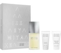Herrendüfte L'Eau d'Issey pour Homme Geschenkset Eau de Toilette Spray 75 ml + Shower Gel 50 ml + After Shave Balm 50 ml