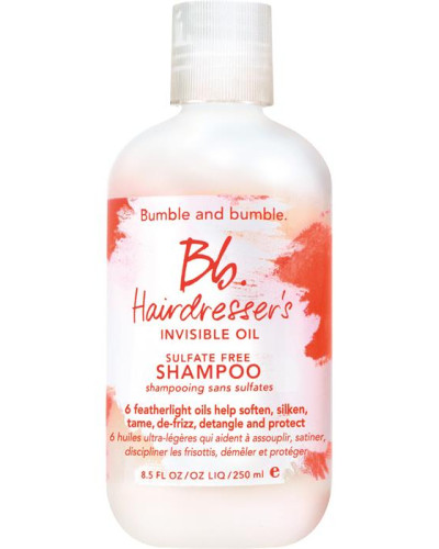 Shampoo Hairdresser's Invisible Oil Sulfate Free