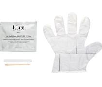 Make-up Nägel Manicure Set Creme-Maske + Feile + Holzstäbchen + Handschuhe