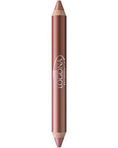 Make-up Lippen Double Lip Pencil Nr. 06 Nut
