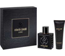 Herrendüfte Uomo Geschenkset Eau de Toilette Spray 100 ml + Shower Gel 75 ml