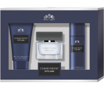 Herrendüfte Commitment Man Geschenkset Eau de Toilette Spray 30 ml + Body & Hair Shampoo 75 ml + Deodorant Spray 50 ml