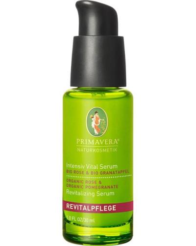 Naturkosmetik Revitalpflege Rose Granatapfel Intensive Vital Serum Grantapfel