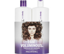 Haarpflege Extra Body I am Voluminous Save On Duo Set Daily Shampoo 1000 ml + Daily Rinse 1000 ml