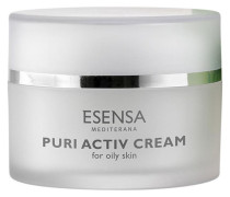 Puri Essence - Unreine & ölige Haut Hydratisierende; talgregulierende entzündungshemmende Creme Activ Cream