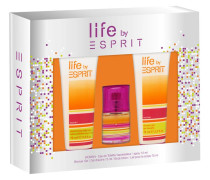 Damendüfte Life by  Woman Geschenkset Eau de Toilette Spray 15 ml + Body Lotion 75 ml + Shower Gel 75 ml