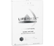 Eyedentical Lifemask Global Anti-Age Second Skin Eye Mask 2 x