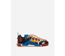 Sneaker NS1 aus Materialmix