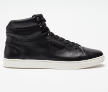 HIGH-TOP SNEAKER LONDON AUS LEDER
