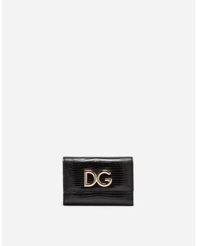 Kleines Continental-Portemonnaie aus Leder