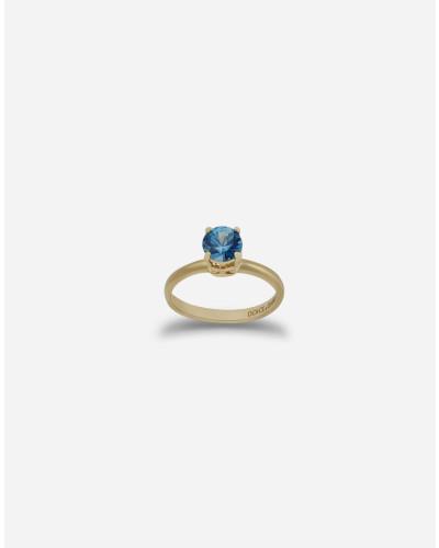 Ring Heritage aus Gelbgold und Zirkon