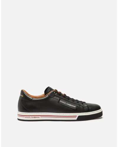 Verkauf Besten Platz Dolce & Gabbana Herren Sneaker Roma aus Kalbsnappaleder Günstig Kaufen Shop Schlussverkauf Kaufen Sie Ihre Lieblings tkfUxPkBF