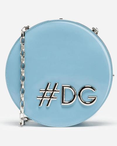 Dolce & Gabbana Damen Runde Umhängetasche DG Girls aus Lackleder Erschwinglicher Verkauf Online Auslass Billig Verkauf Wirklich Auslass Offiziellen Besuchen Neue KNy02PlkJ