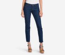 JEANS FIT PRETTY AUS STRETCH-DENIM MIT MAJOLIA-DETAIL