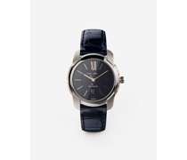 DG7 Watch in Steel With Engraved Side Decoration in Gold