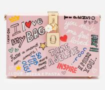 Clutch Dolce BOX mit Murales-Print