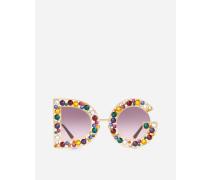 Sonnenbrille DG crystal