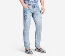 BEDRUCKTE JEANS FIT CLASSIC