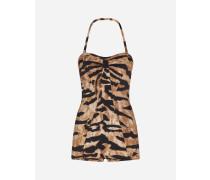 Badeanzug Tigerprint