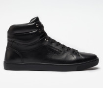 HIGH TOP SNEAKERS LONDON AUS LEDER
