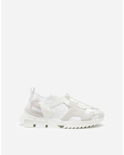 Sorrento Trekking Sneakers aus Materialmix