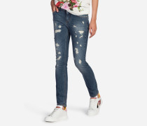 JEANS FIT PRETTY AUS STRETCH-DENIM